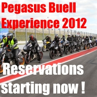 Pegasus Buell Experience 2012